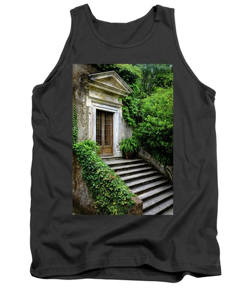 Tank Top featuring the photograph Come On Up To The House by Marco Oliveira
