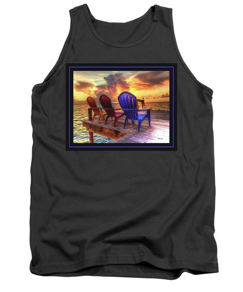 Tank Top featuring the photograph Come Sit A While by Steven Lebron Langston