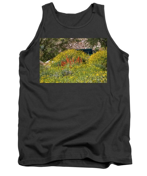 Come Sit Awhile Tank Top by Anne Rodkin