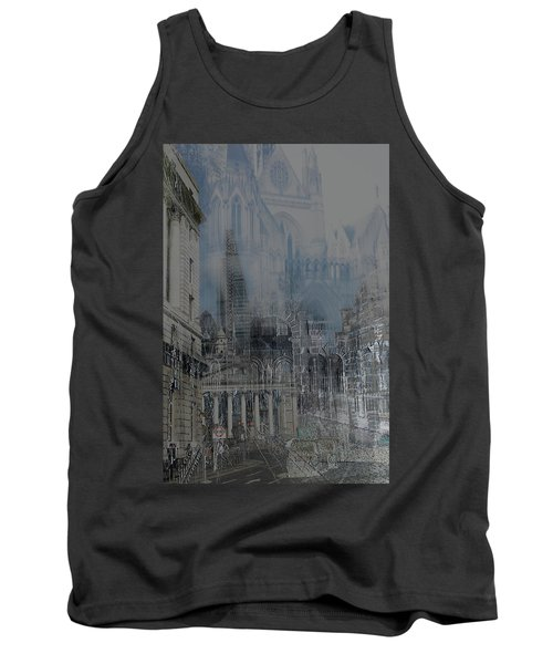 Comes The Night - City Deamscape Tank Top