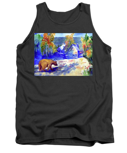 Coming For Dinner At Rainbow Lodge Tank Top