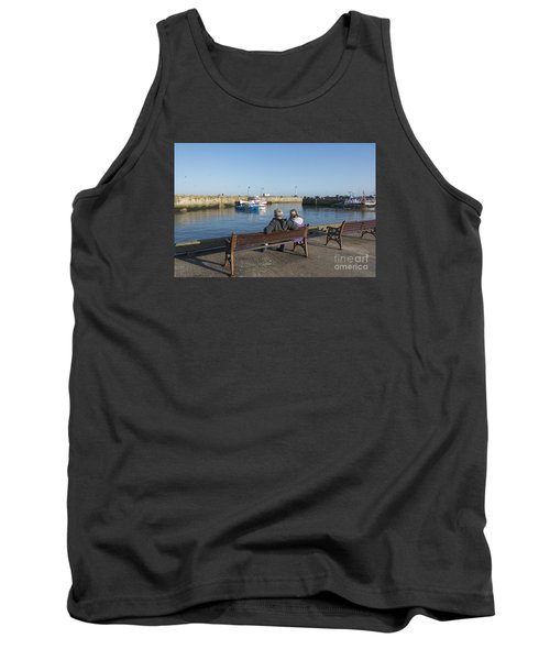 Comings And Goings Tank Top by David  Hollingworth