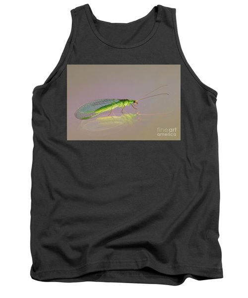 Common Green Lacewing - Chrysoperla Carnea Tank Top