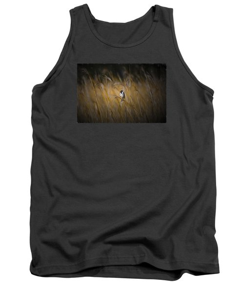 Common Reed Bunting Nov Tank Top by Leif Sohlman