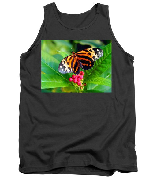 Common Tiger Glassywing Butterfly Tank Top