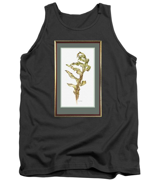 Compass Plant, Fall Tank Top by Catherine Twomey