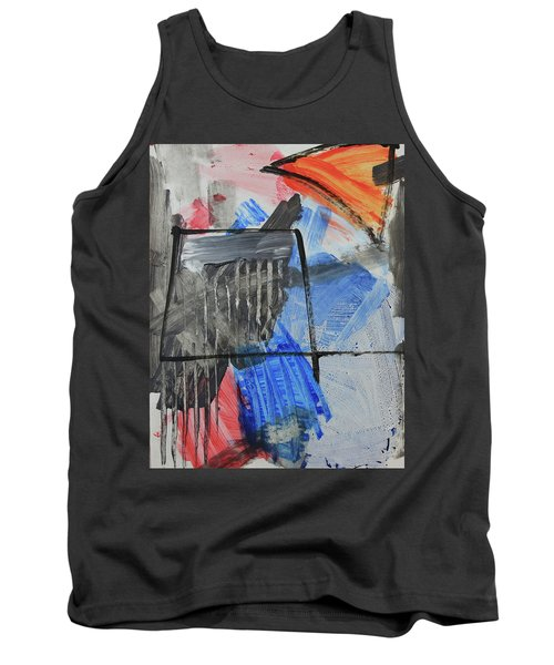 Composition 20188 Diptych Left Panel Tank Top