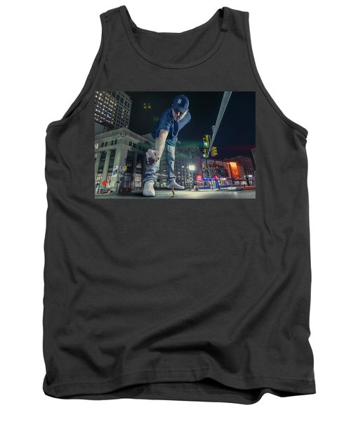 Tank Top featuring the photograph Coney Anyone? by Nicholas Grunas
