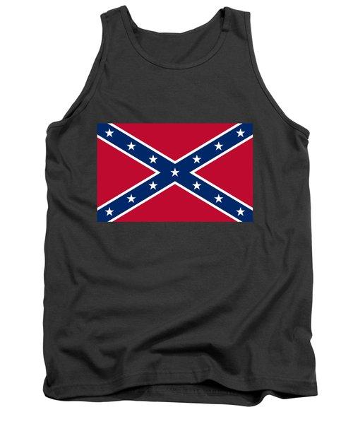 Confederate Naval Jack Flag Tank Top