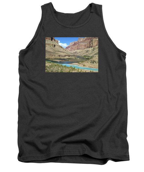 Confluence Of Colorado And Little Colorado Rivers Grand Canyon National Park Tank Top