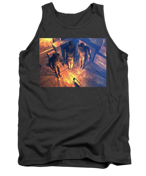 Confronted By Malignant Forces Tank Top
