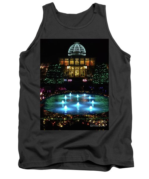Conservatory At Night Tank Top