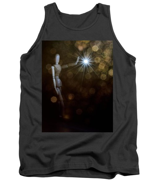 Contact Tank Top by Mark Fuller