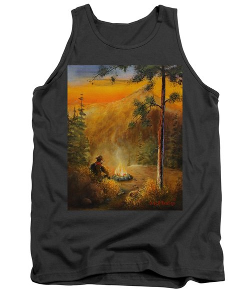 Contemplating The Journey Tank Top