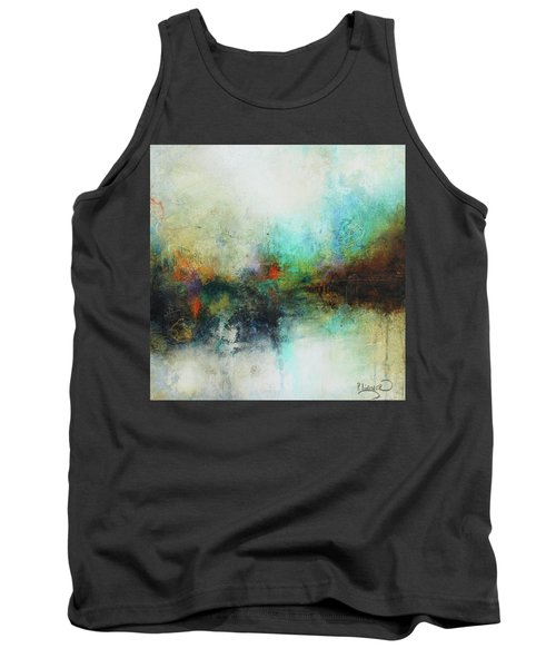 Contemporary Abstract Art Painting Tank Top by Patricia Lintner