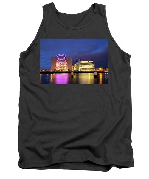 Convention Centre Dublin And Pwc Building In Dublin, Ireland Tank Top