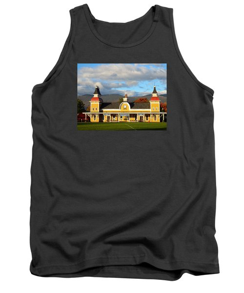 Tank Top featuring the photograph Conway Scenic Railroad 1 by Nancy De Flon