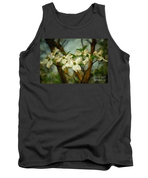 Cool Breeze Painterly Tank Top