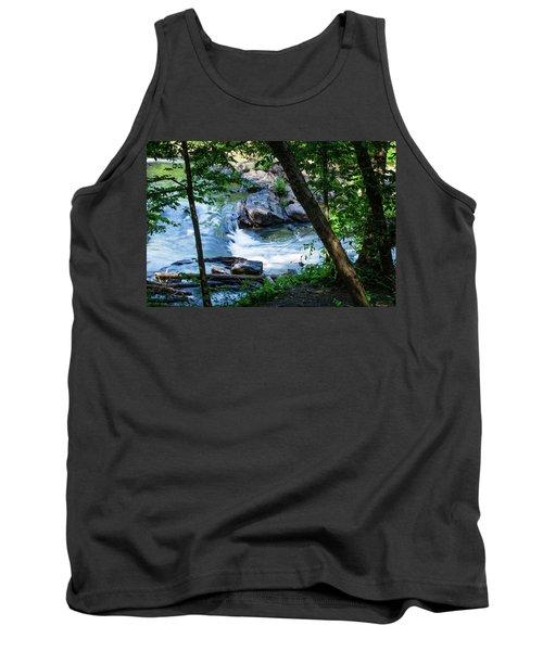 Cool Mountain Stream Tank Top