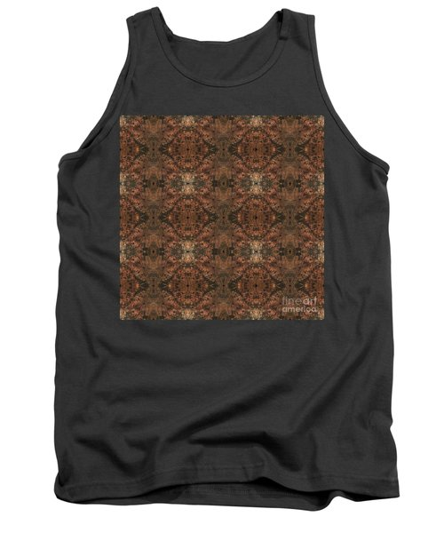 Copper Abstract 1 Tank Top