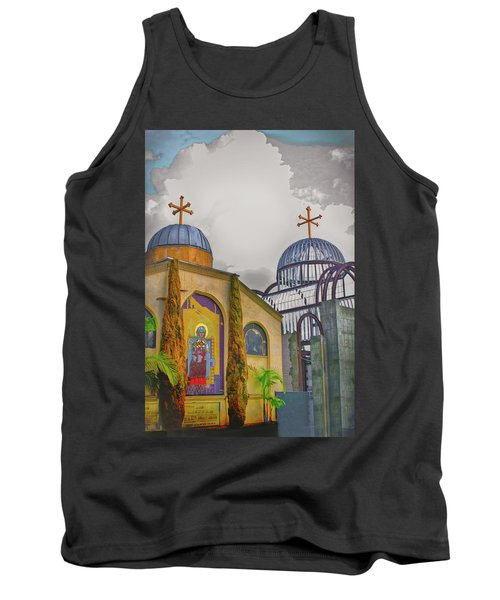 Coptic Church Rebirth Tank Top by Joseph Hollingsworth