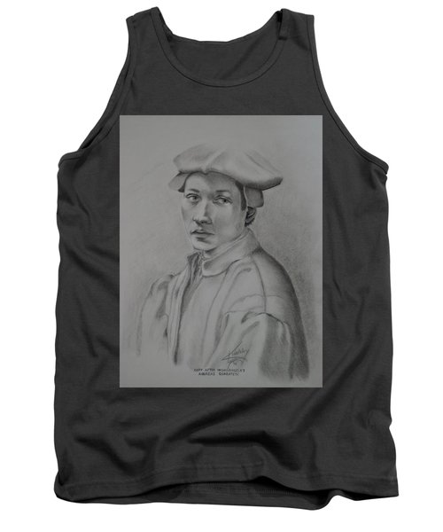 Copy After Michelangelo's Andreas Quaratesi Tank Top