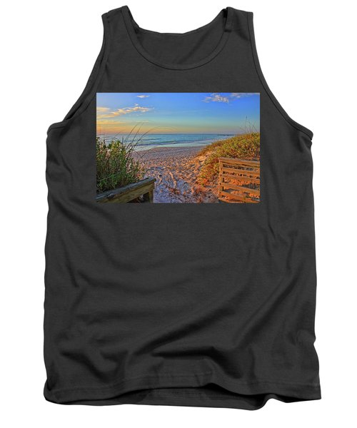 Coquina Beach By H H Photography Of Florida  Tank Top