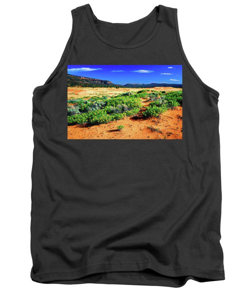 Coral Pink Sand Dunes Tank Top