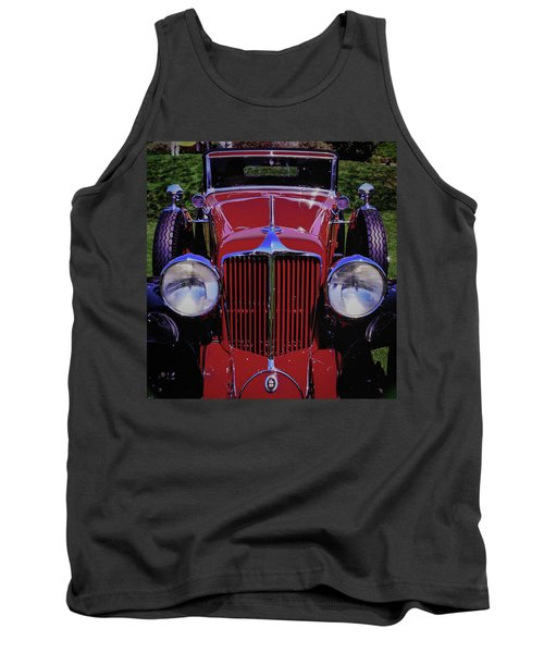 Cord Coupe Tank Top