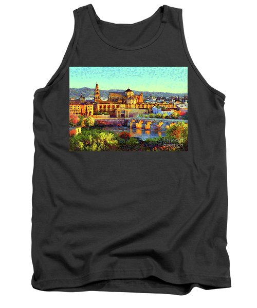Cordoba Mosque Cathedral Mezquita Tank Top