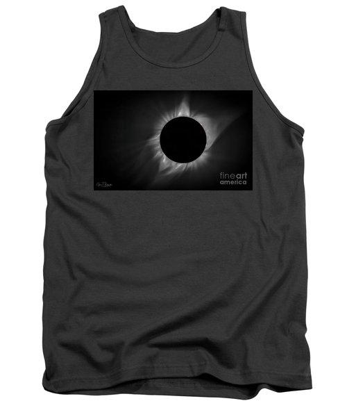 Corona During Total Solar Eclipse Tank Top