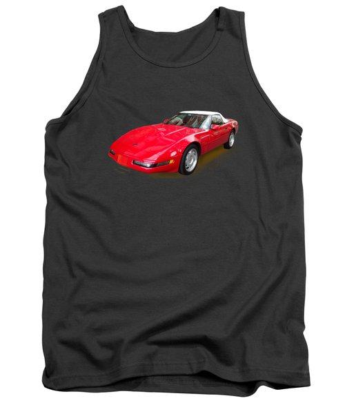 Corvette Tank Top by Eric Schiabor