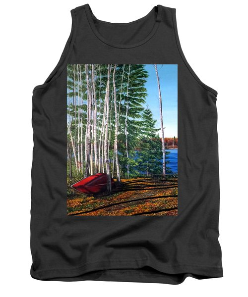 Cottage Country Tank Top by Marilyn McNish