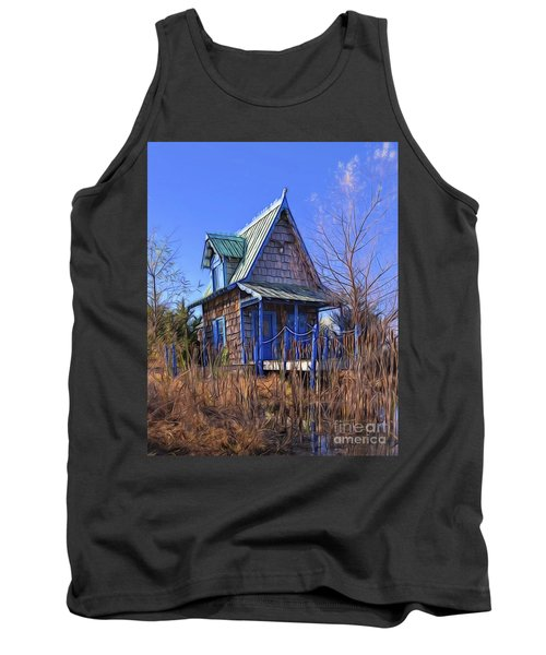 Cottage In The Willows Tank Top