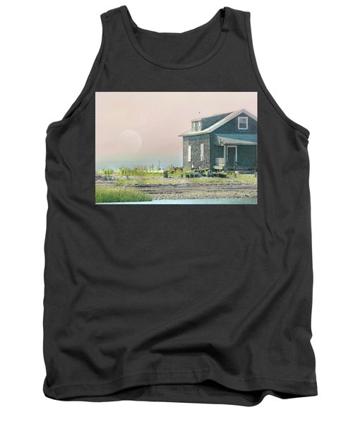 Cottage On The Sound Tank Top