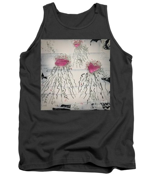 Cotton Candy Jelly-fish Tank Top