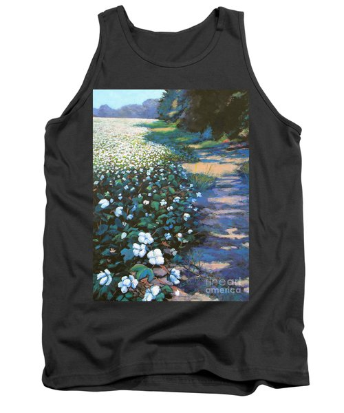 Cotton Field Tank Top by Jeanette Jarmon