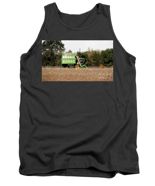 Cotton Picker Tank Top by Donna Brown