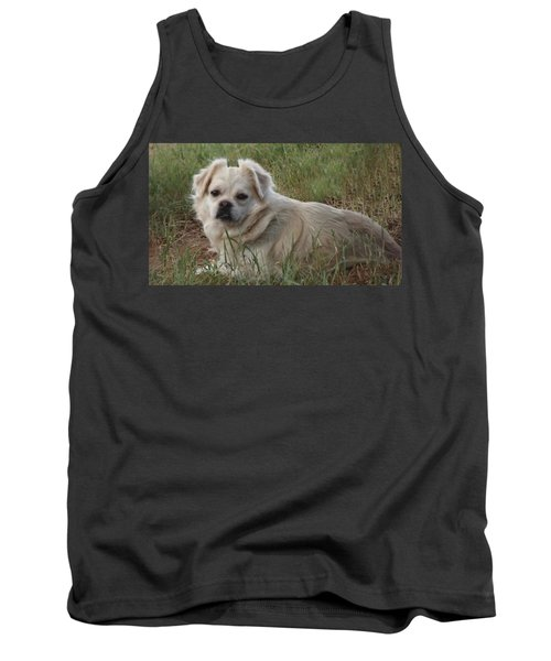 Cotton In The Grass Tank Top
