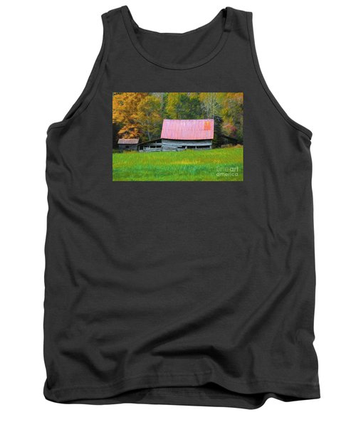 Country Autumn  Tank Top by Marion Johnson