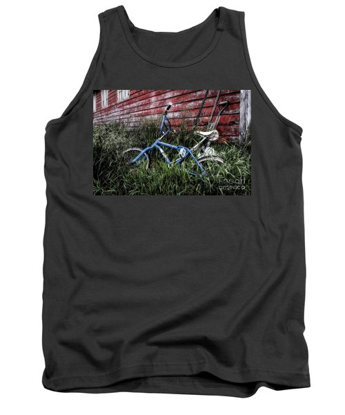 Tank Top featuring the photograph Country Bicycle by Brad Allen Fine Art