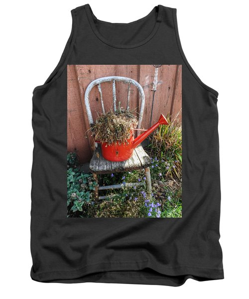 Country Charm Tank Top by Janice Adomeit