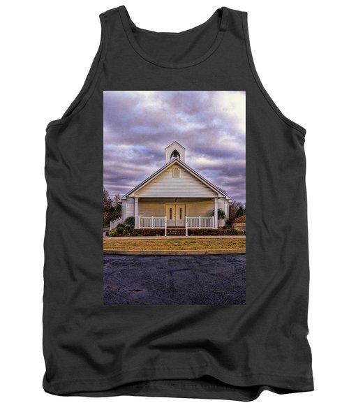Country Church Tank Top