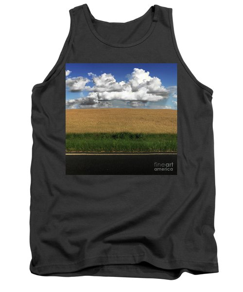 Country Field Tank Top by Brian Jones