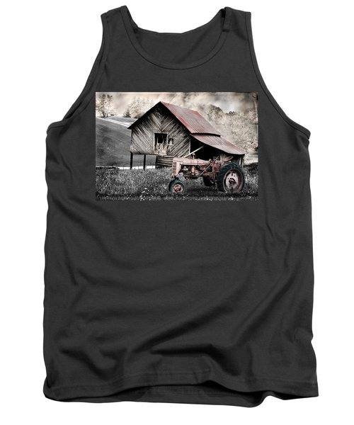 Country Tank Top by Gray  Artus
