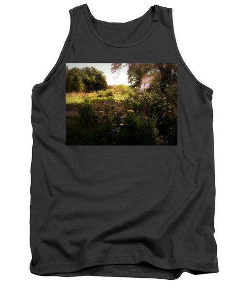 Country House Tank Top by Cynthia Lassiter