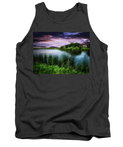 Country Lake Tank Top