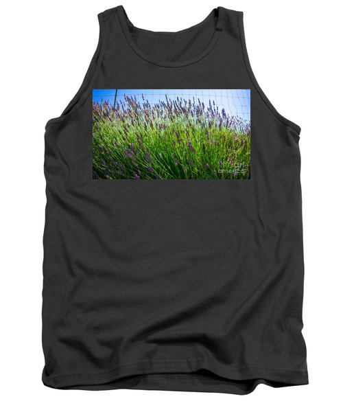 Country Lavender II Tank Top