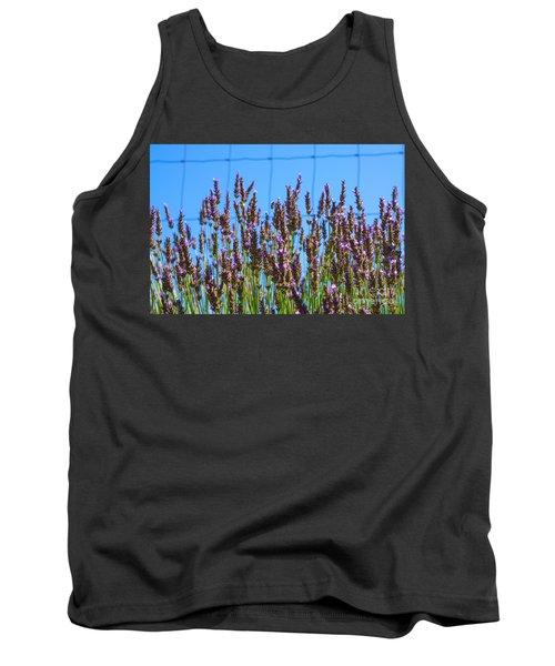 Country Lavender Iv Tank Top
