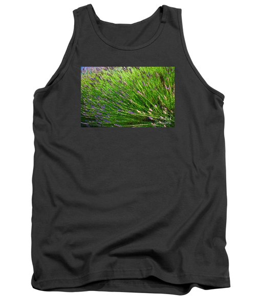 Country Lavender Vi Tank Top
